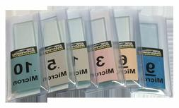 KME diamond Lapping film and tempered soda lime glass blank