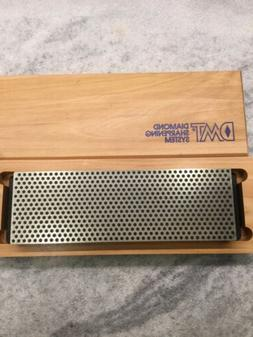 DMT Diamond Sharpening System Black  In Wood Box  225 Mesh 8
