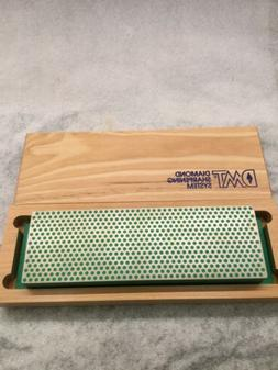 DMT Diamond Sharpening System Green In Wood Box Extra Fine 1
