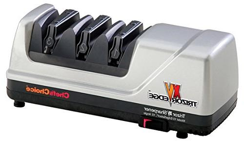 Chef'sChoice 15 EdgeSelect Electric Sharpener Serrated Diamond Patented in Gray