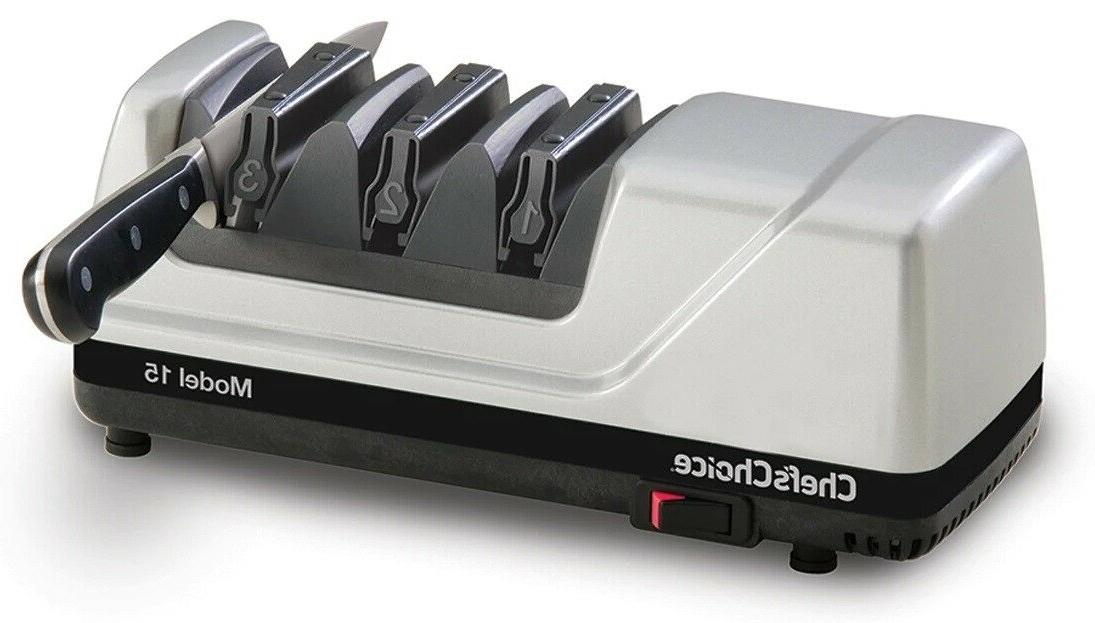 Chefs Electric Knife EdgeSelect 15 Degree