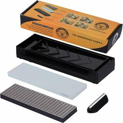 Professional Diamond Block Whetstone Knife Sharpening Stone